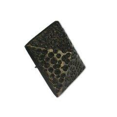 """Medium Textured Pyramid Clavo 1-3/8"""" Dia - Antique Brass"""