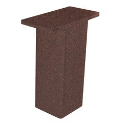 The Plaza Countertop Post Support 5 inch High Bronze
