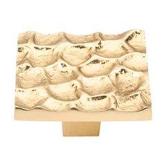 Cobblestone 1-15/16 Inch Diameter Brass Cabinet Knob <small>(#TK302BR)</small>