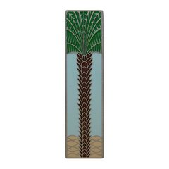 Tropical 3 Inch Center to Center Antique Pewter Cabinet Pull <small>(#NHP-322-AP-B)</small>