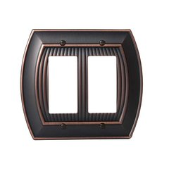 Allison Two Rocker Wall Plate Oil Rubbed Bronze