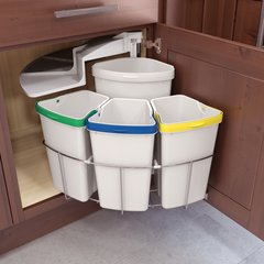 Oko Center 4 Waste/Recycling Center - (3) 10 qt & (1) 13 qt