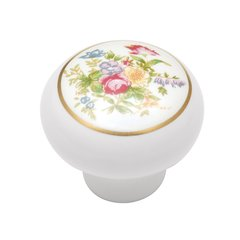 English Cozy Knob 1-3/8 inch Diameter Bouquet