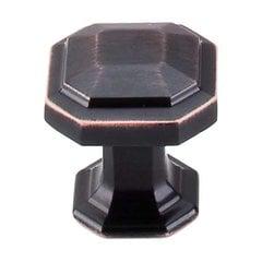 Chareau 1-1/8 Inch Diameter Tuscan Bronze Cabinet Knob
