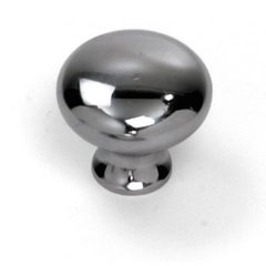 Danica 1-1/4 Inch Diameter Polished Chrome Cabinet Knob
