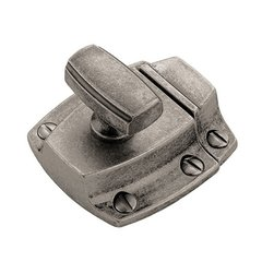 Highland Ridge 1-5/8 Inch Length Aged Pewter Latch <small>(#BP55315AP)</small>