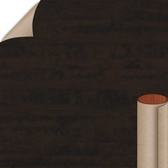Chocolate Pear Tree Arborite Laminate Vert 4X8 French Polish <small>(#W444-FP-A3-48X096)</small>