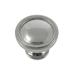 Vanilla 1-1/4 Inch Diameter Polished Nickel Cabinet Knob <small>(#17014)</small>