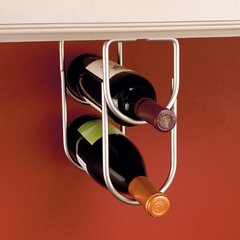 Double Bottle Holder - Satin Nickel