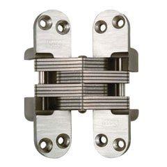 #416 Fire Rated Invisible Hinge Satin Chrome