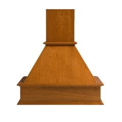 "30"" Wide Straight Signature Range Hood-Red Oak"