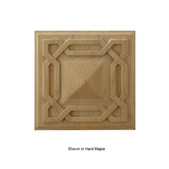 Brown Wood Deco Tile Unfinished Red Oak 01902078AK1