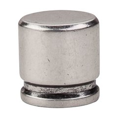 Sanctuary 1-1/8 Inch Length Pewter Antique Cabinet Knob <small>(#TK59PTA)</small>