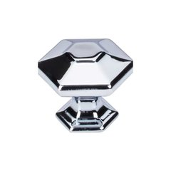 Transcend 1-1/4 Inch Diameter Polished Chrome Cabinet Knob <small>(#TK713PC)</small>