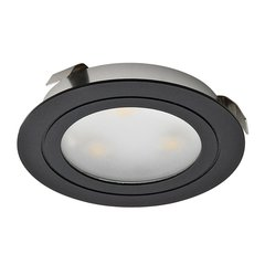 Loox 350mA Recess Mount LED Warm White Black Finish