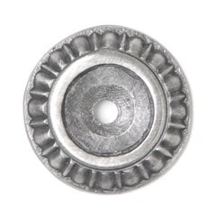 King's Road 1-1/8 Inch Diameter Antique Pewter Back-plate <small>(#NHE-508-AP)</small>