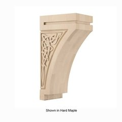 Gaelic Large Corbel Unfinished Walnut
