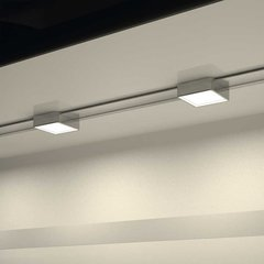 Hafele Loox 24V Surface Mounted Sliding Light System Silver Finish 833.76.040