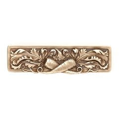 Kitchen Garden 3 Inch Center to Center Antique Brass Cabinet Pull <small>(#NHP-652-AB)</small>