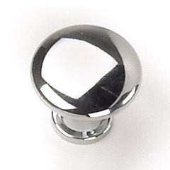 Delano 7/8 Inch Diameter Polished Chrome Cabinet Knob <small>(#26326)</small>