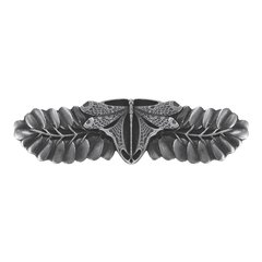 All Creatures 3 Inch Center to Center Antique Pewter Cabinet Pull <small>(#NHP-607-AP)</small>