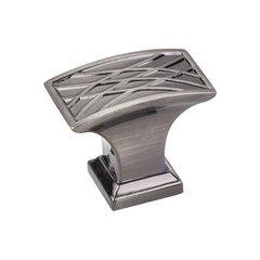 Aberdeen 1-1/2 Inch Diameter Brushed Black Nickel Cabinet Knob <small>(#535L-BNB)</small>