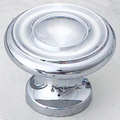 Colonial 1-1/4 Inch Diameter Polished Chrome Cabinet Knob