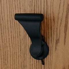 UltraLatch for 1-3/4 inch Door with Privacy Latch Textured Black