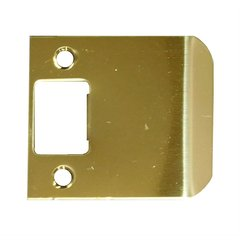 "Extended Lip Strike 2-3/4"" X 2"" Brass Plated Steel <small>(#EL-202-BP)</small>"