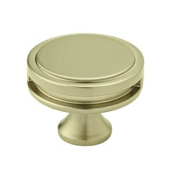 """Oberon Knob 1-3/4"""" Dia Golden Champagne <small>(#BP36604BBZ)</small>"""