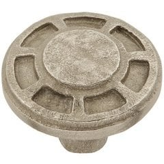 Riverside Knob 1-9/16 inch Diameter Natural White Bronze