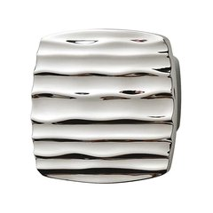 Strata 1-5/8 Inch Diameter Polished Chrome Cabinet Knob