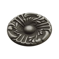 Cavalier 1-1/2 Inch Diameter Antique Pewter Cabinet Knob <small>(#P119-AP)</small>
