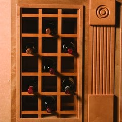 17X29 Sonoma Wine Rack Panels-Cherry