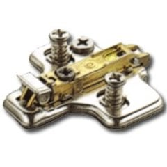 Salice 6MM Clip On Mounting Plate with Pre-Mount Euro-Screw