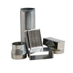 Range Hood Interior Ductwork Kit For 500CFM Blower