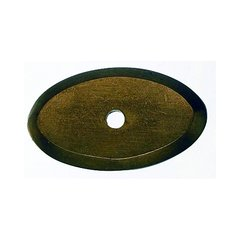 Aspen 1-1/2 Inch Length Light Bronze Back-plate <small>(#M1436)</small>