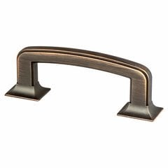 Hearthstone 3 Inch Center to Center Venetian Bronze Cabinet Pull