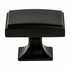 Hearthstone 1-9/16 Inch Diameter Matte Black Cabinet Knob