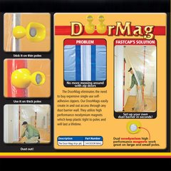 Door Mag For 3rd Hand 4/Pack <small>(#3-H DOOR MAG)</small>