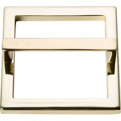 Tableau Pull and Baseplate 3 inch Center to Center French Gold