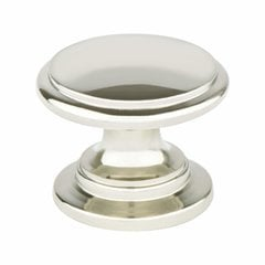 Designers Group 10 1-3/16 Inch Diameter Polished Nickel Cabinet Knob