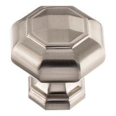 Elizabeth Knob 1-1/4 inch Diameter Brushed Nickel
