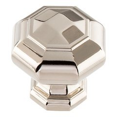 Elizabeth Knob 1-1/4 inch Diameter Polished Nickel