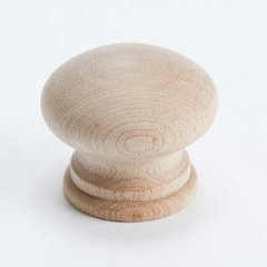 Appalachia 1-5/16 Inch Diameter Unlacquered Maple Cabinet Knob