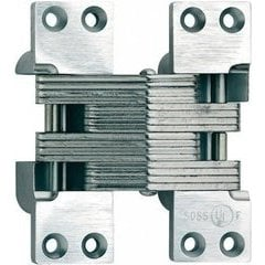 SOSS #420 Invisible Hinge Bright Stainless Steel