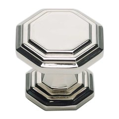 Dickinson 1-1/4 Inch Diameter Polished Nickel Cabinet Knob <small>(#319-PN)</small>