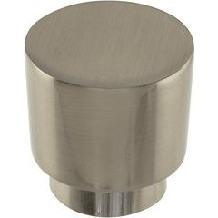 Tom Tom Knob 1-1/4 inch Diameter Brushed Nickel