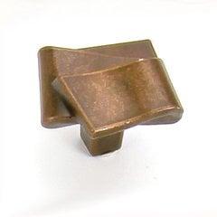 Diva 1-3/8 Inch Diameter Stonewashed Bronze Cabinet Knob