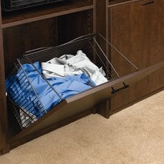 "Tilt-Out Hamper 16"" Oil Rubbed Bronze"